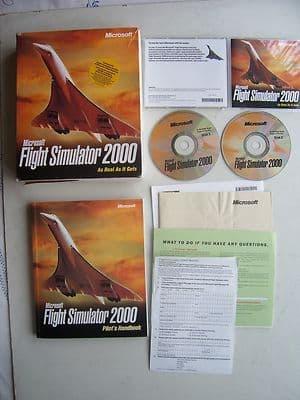 Microsoft Flight Simulator 2000  PC Big Box Edition