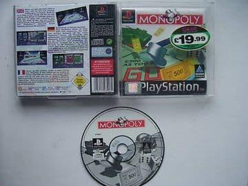 Monopoly  PS1 / 2 . Rare