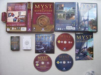 Myst 4 Revelation Pc Game Limited Big Box Edition