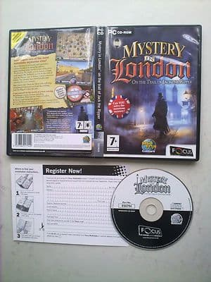 Mystery in London  Hidden Object PC Game