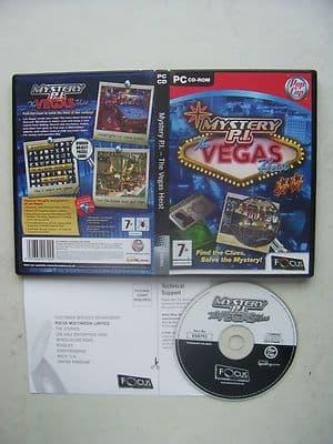 Mystery PI Vegas Heist Hidden Object PC Game
