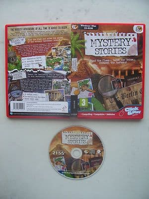 Mystery Stories Island of Hope / Berlin Nights Hidden Object PC Game