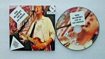 Paul McCartney Live in Los Angeles CD Audio Soundtrack