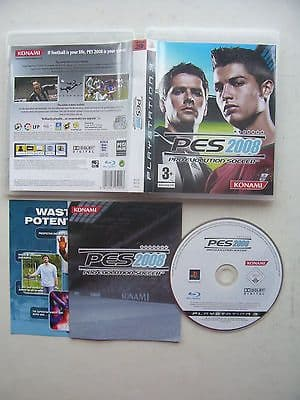 PES 2008  PS3  Game