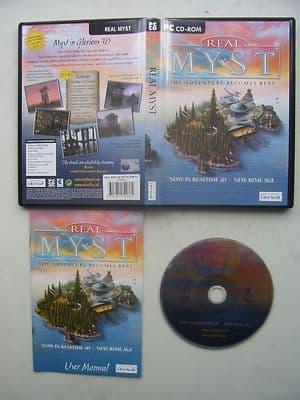 Real Myst 3D PC Rare