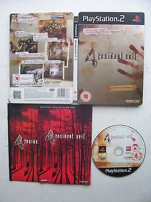 Resident Evil 4  PS2 In Limited Edition Tin