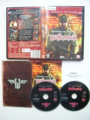 Return to Castle Wolfenstein PC Special Edition Very Rare