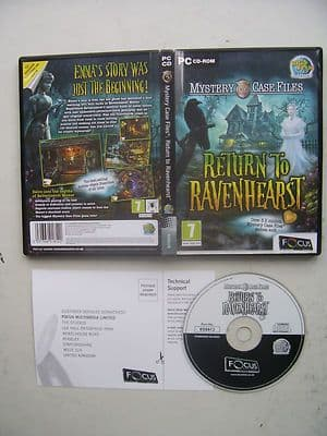 Return to Ravenhearst Mystery Case Files Hidden Object PC Game