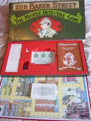 Sherlock Holmes Game ..Near Mint (Very Rare)