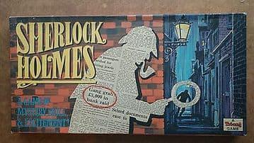 Sherlock Holmes Vintage Board  Game byTriang 1960s