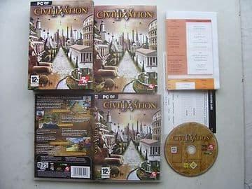 Sid Meier's Civilization 4  PC  Boxed Edition