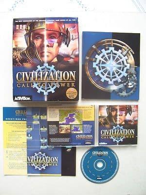 Sid Meier's Civilization Call to Power PC Game Big Box Edition