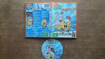Spongebob Squarepants Christmas DVD