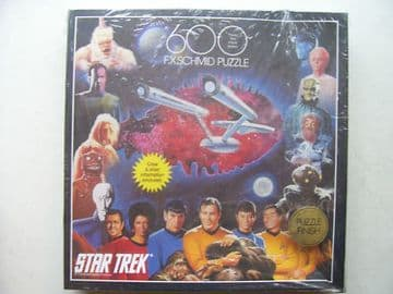 Star Trek 600 Piece Jigsaw By FX Schmid SEALED VERY RARE