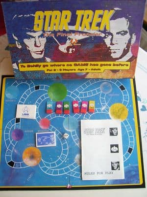 Star Trek The Final Frontier   RARE