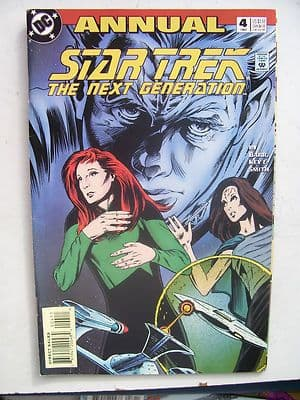Star Trek The Next Generation  DC  Comic Issue 4  Very Rare