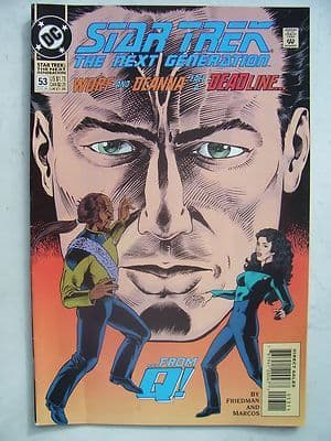 Star Trek The Next Generation  DC  Comic Issue 53 Very Rare