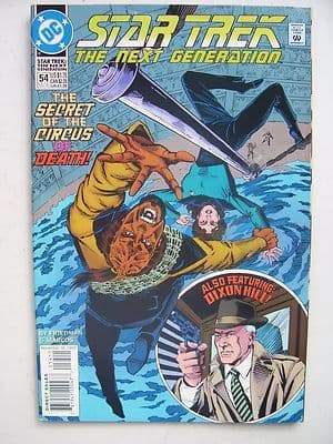 Star Trek The Next Generation  DC  Comic Issue 54 Very Rare