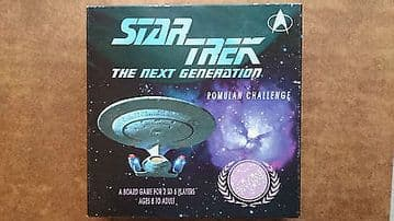 Star Trek The Next Generation Romulan Challenge Board Game  by MMG 1992