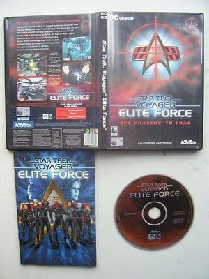 Star Trek Voyager Elite Force  PC Original Release