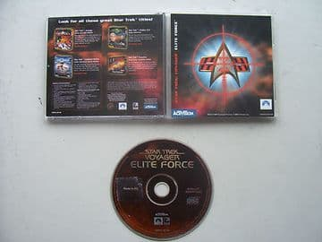 Star Trek Voyager Elite Force  PC RARE