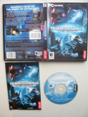 Terminator 3 War of the Machines PC