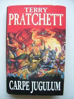 Terry Pratchett Carpe Jugulum  A Discworld Novel  Hardback