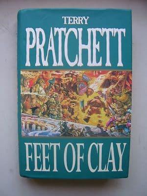 Terry Pratchett Feet of Clay  A Discworld Novel  Hardback