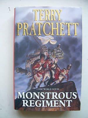 Terry Pratchett Monstrous Regiment  A Discworld Novel  Hardback