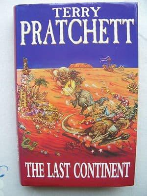 Terry Pratchett The last Continent Hardback