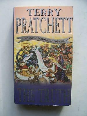 Terry Pratchett The Truth  The 25th Discworld Novel