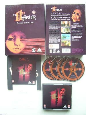 The 11th Hour The Sequel to 7th Guest  PC Big Box Edition