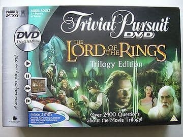 The Lord of the Rings DVD  Trilogy Edition  Board Game..