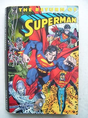 The Return of Superman Graphic Novel  1st Edition 1993