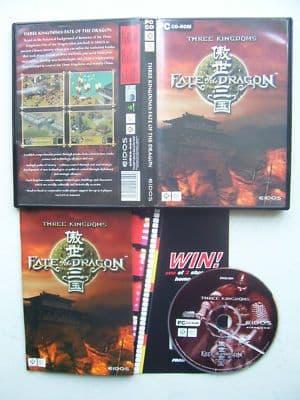 Three Kingdoms Fate of the Dragon  PC