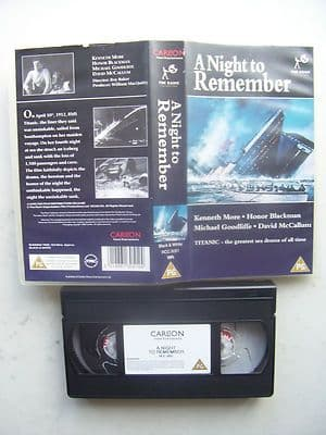 Titanic A Night to Remember