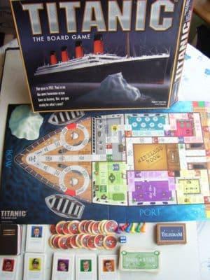 Titanic  Board Game....(RARE)