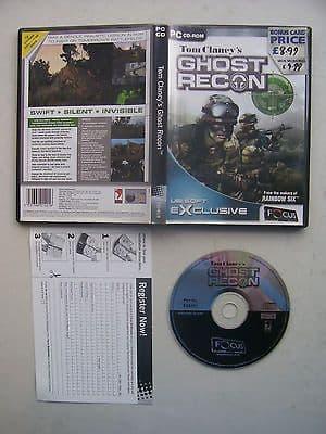 Tom Clancy's Rainbow Ghost Recon PC 99p!
