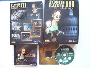 Tomb Raider 3 PC Big Box Edition