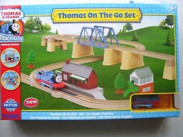 Tomy Thomas Trackmaster Thomas on the Go Set Boxed