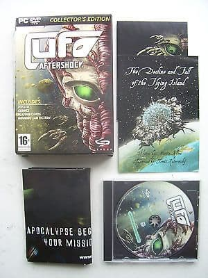 UFO Aftershock PC Boxed Edition
