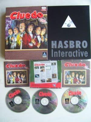 Vintage Cluedo  PC Game Big Box Edition
