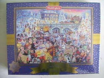 Waddingtons Limited Edition Christmas Jigsaw SEALED