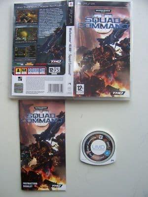 Warhammer 40.000 Squad Command PSP Game