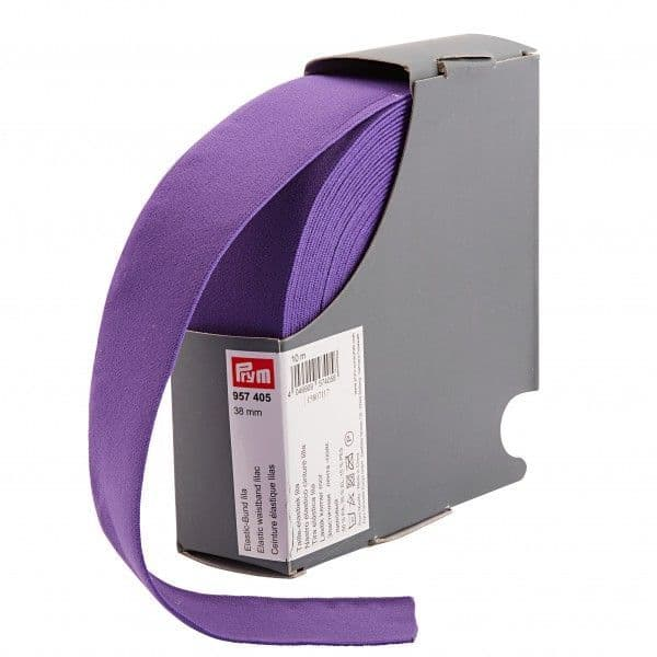 38mm Prym Waistband Elastic - Purple x 1mtr