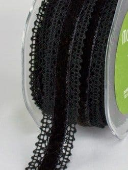 Black Velvet Lace Trim