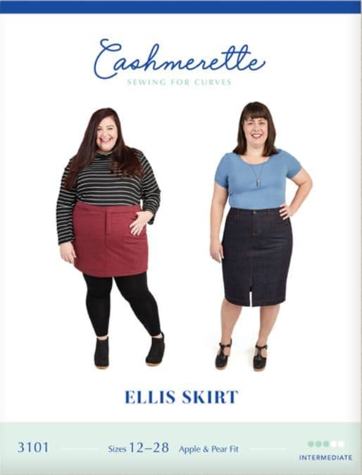 Cashmerette Sewing Pattern - Ellis Skirt