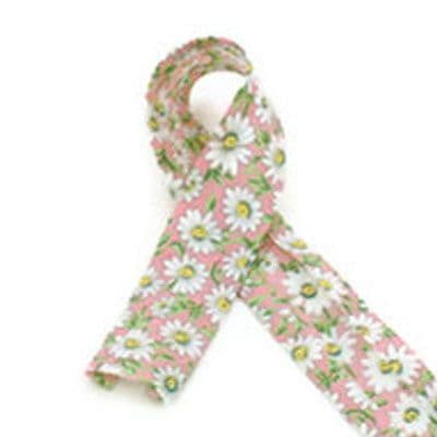 Daisy Print bias binding 25mm