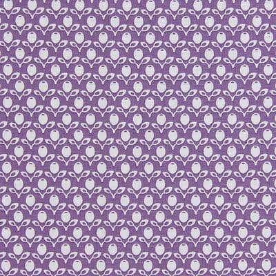 Gutermann Fabric Garden French Cottage Purple - per quarter metre