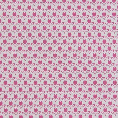 Gutermann Fabric Garden French Cottage White - per quarter metre